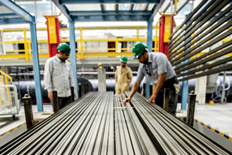 Production at the Balexco plant in Bahrain