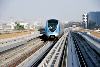 The Dubai Metro where Honeywell's technology came into play