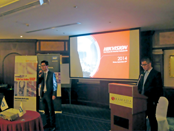 Hikvision hosted a joint seminar with Western Digital in Dubai last year