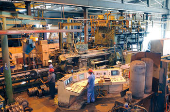A production facility at Napco in Rusayl Industrial Estate, Muscat