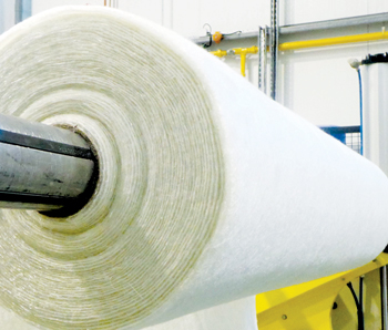A roll of iSpring manufactured at Ilium in Bahrain