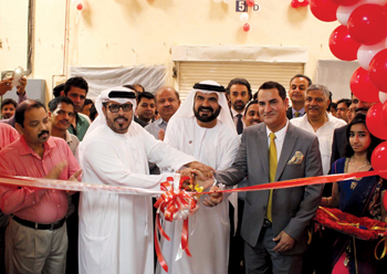 The inauguration of the new unit of Arab & India Spices in Ajman