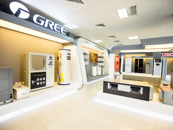 NIA is the authorised distributor of Gree air conditioning units in the UAE and Iran