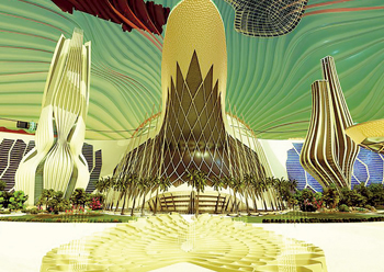 Mars 2117 project architecture: as the UAE sees it