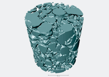 A nano-CT scan of 'thubber'